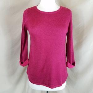 Chico's Fuschia Sweater